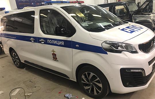 Оклейка авто ДПС по ГОСТ 50574-2019, установка спецсигналов