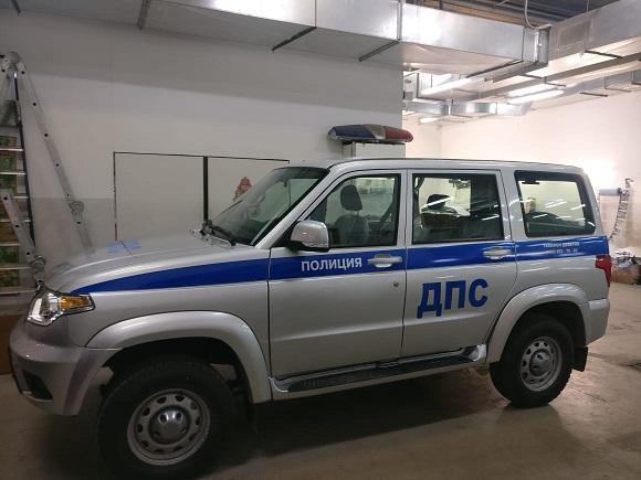 Оклейка по ГОСТ Р 50574-2019 автомобиля ДПС