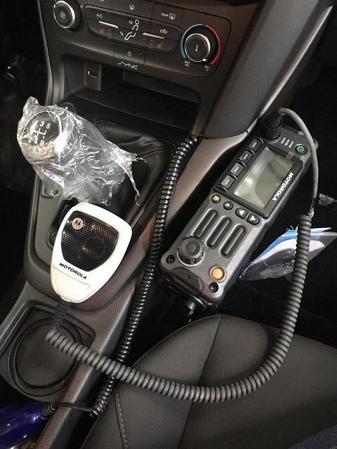 автомобиль радиостанция
